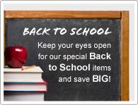Fique de olhos abertos nas promoções de volta as aulas e economize MUITO!
